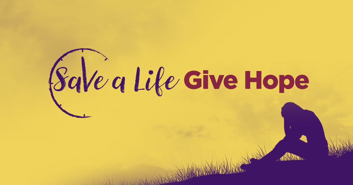 Save a Life - Give Hope 2016 Twitter - Premier